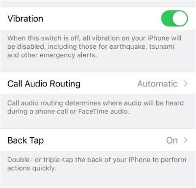 """ما,هي, ميزة, """"باك, تاب, Back ,Tap,"""" في, تحديث, iOS 14"""