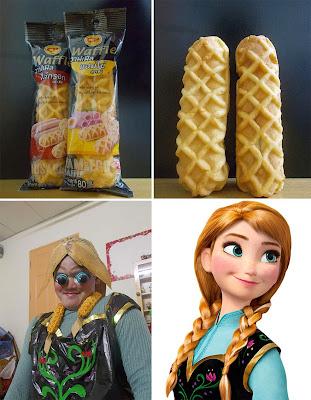 Disfraz de Princesa Anna de frozen cosplay