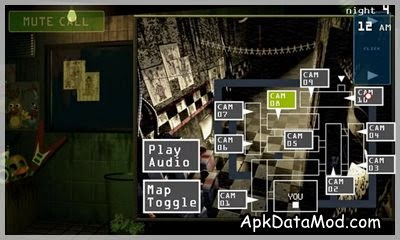 Five Nights at Freddy's 3 Apk map toggle
