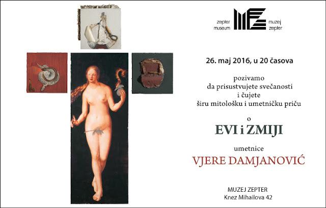 Priča o Evi i zmiji - Vjera Damjanović