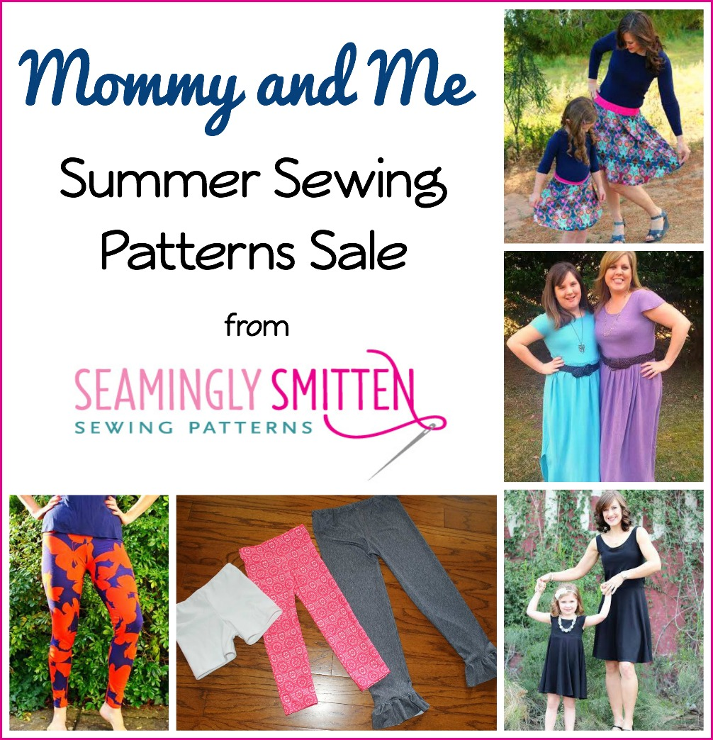ce41292c0 Sew Can Do: Mommy and Me Sewing Patterns from Seamingly Smitten