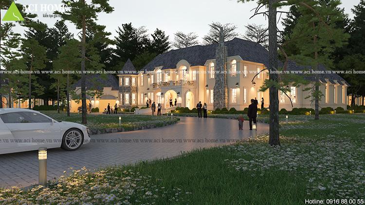 Thiết kế biệt thự vườn kiểu Châu Âu tại Đà Lạt - Ảnh 8