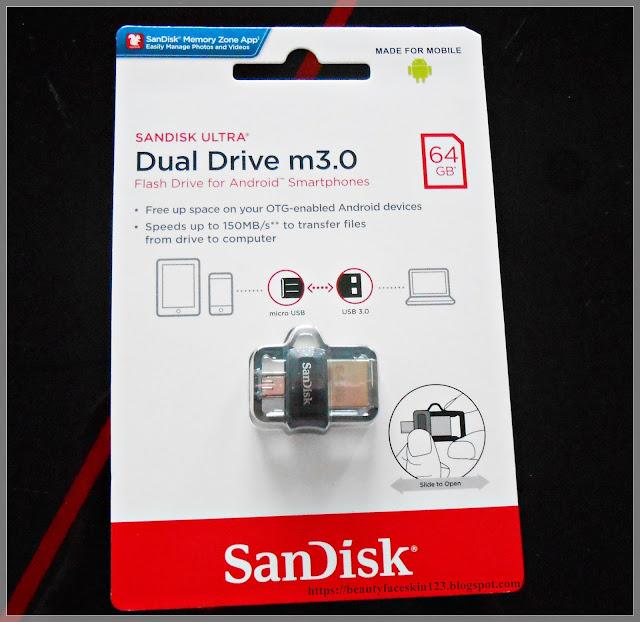 SanDisk Ultra® Dual USB Drive m3.0