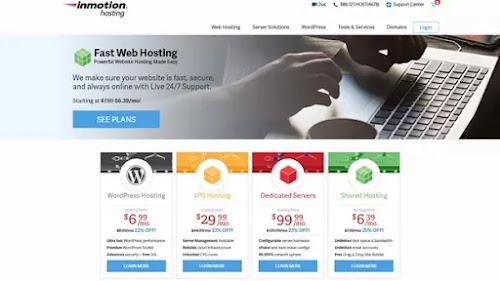 استضافة الويب InMotion