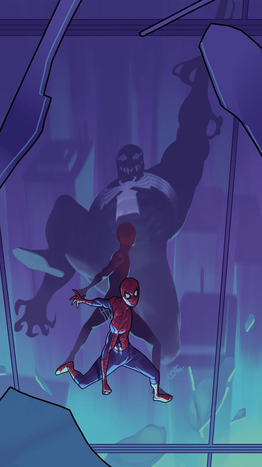 spider and venom
