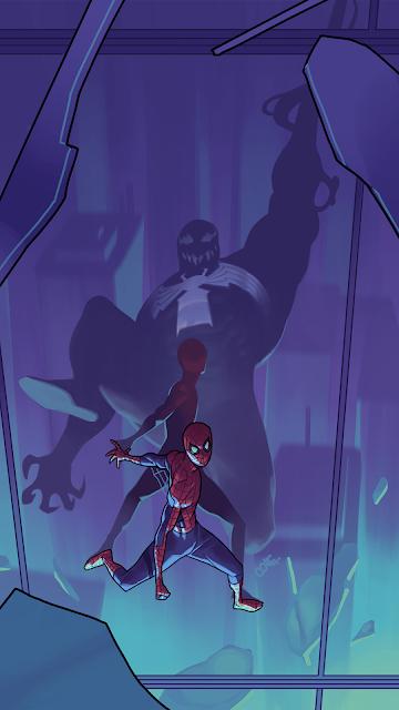 Cool wallpaper spider and venom