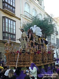 La Salud de Cádiz sonará tras Jesús en su Prendimiento el próximo Lunes Santo