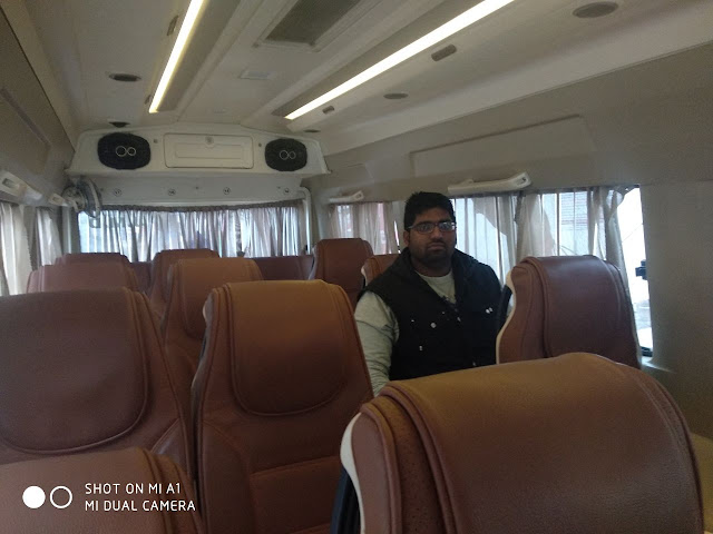 LUXURY TEMPO TRAVELLER ON RENT IN PATNA AND RANCHI - WWW.CALLMICABS.COM