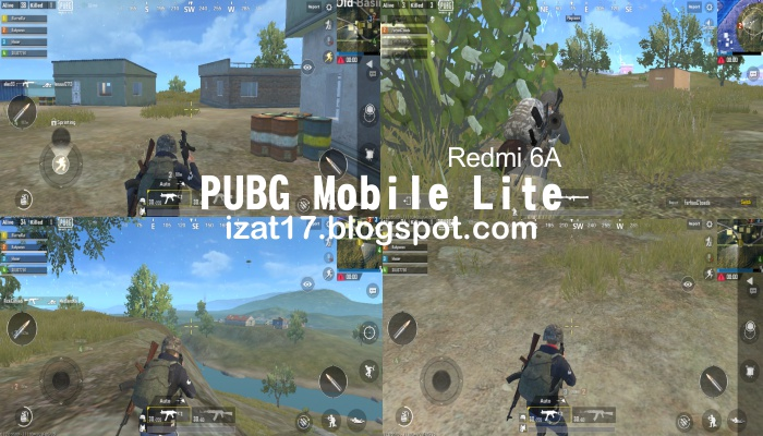 PUBG Mobile Lite Test Redmi 6A