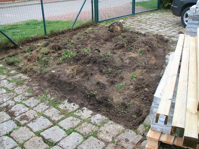 reorganizacja przedogródka, rabata przed domem, ogród przydomowy