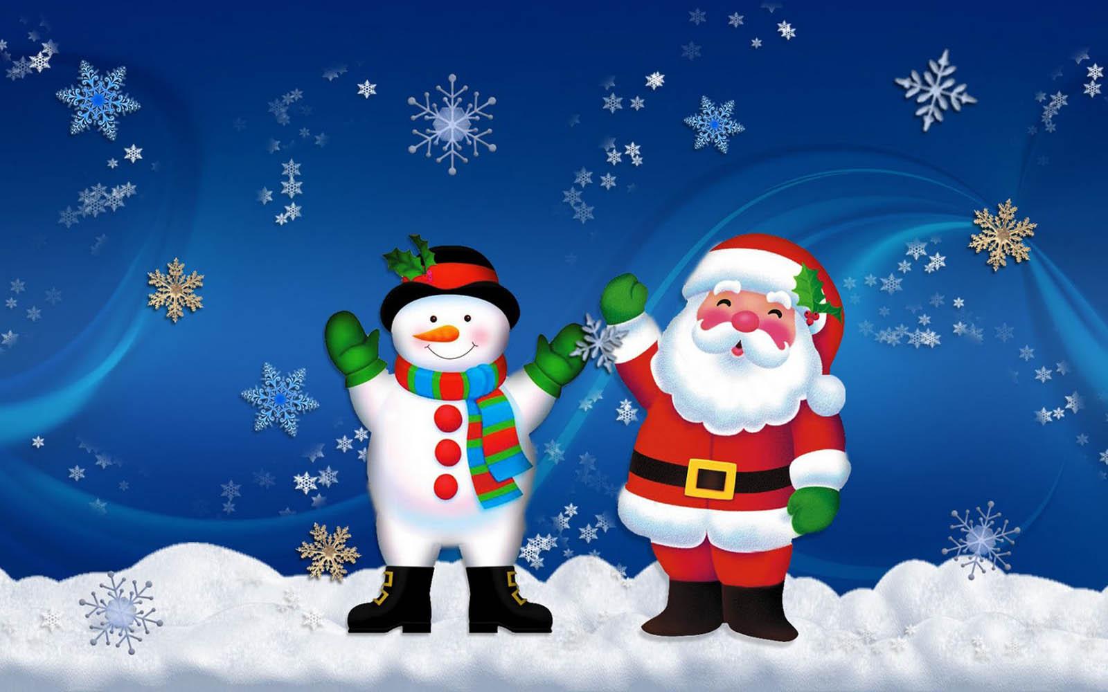 snowman desktop background - photo #5