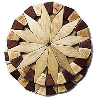 natural wood trivet
