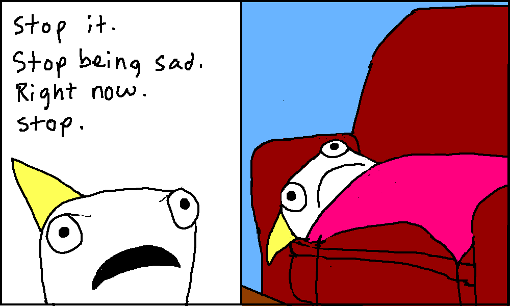 Adventures in Depression by Allie Brosh