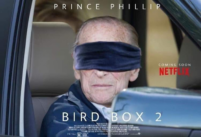 Funny Netflix Bird Box 2 Prince Phillip Picture