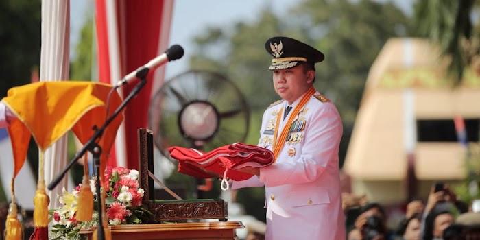 Gubernur Lampung Jadi Inspektur Upacara HUT Kemerdekaan Ke 73 2018