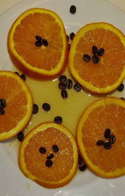 Naranjas Flambeadas