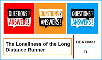 The Loneliness of the Long Distance Runner │ Important Exam Questions and Answers