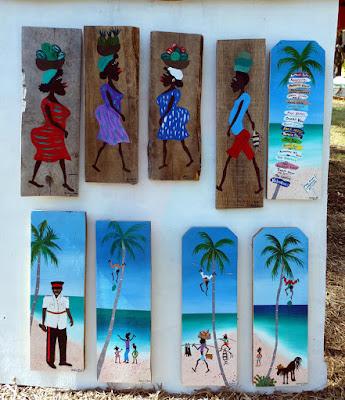 paintings on wood