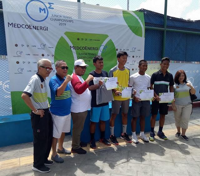 MedcoEnergy Junior Tennis Champs-2: Menangi Final Ideal, Jones Pratama Sabet Gelar Juara