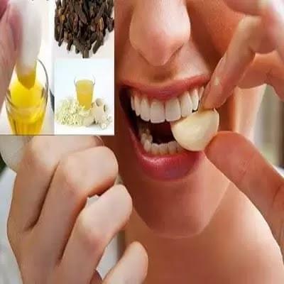 علاج آلام الأسنان بالاعشاب