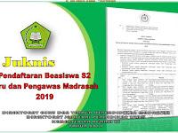 Juknis Pendaftaran Beasiswa S2 Bagi Guru dan Pengawas Madrasah Tahun 2019