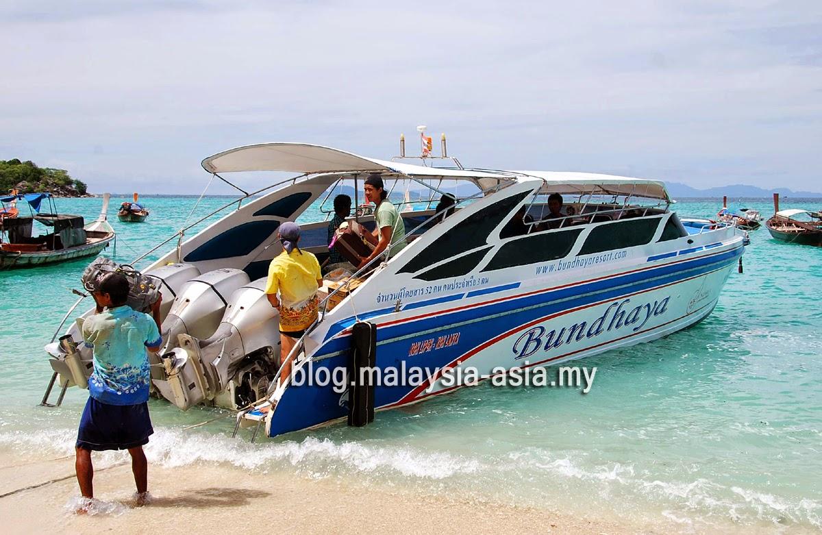 Bundhaya Ferry to Koh Lipe from Langkawi