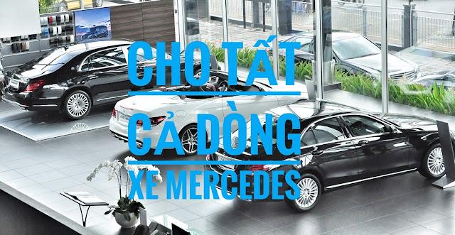 Chương trình Khuyến mãi Mercedes Phú Mỹ Hưng áp dụng cho tất cả các dòng xe Mercedes