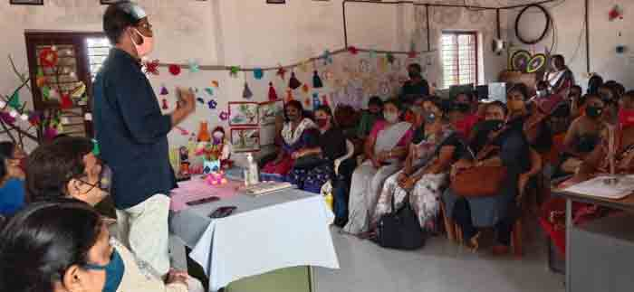 Two-day training for pre-school teachers started