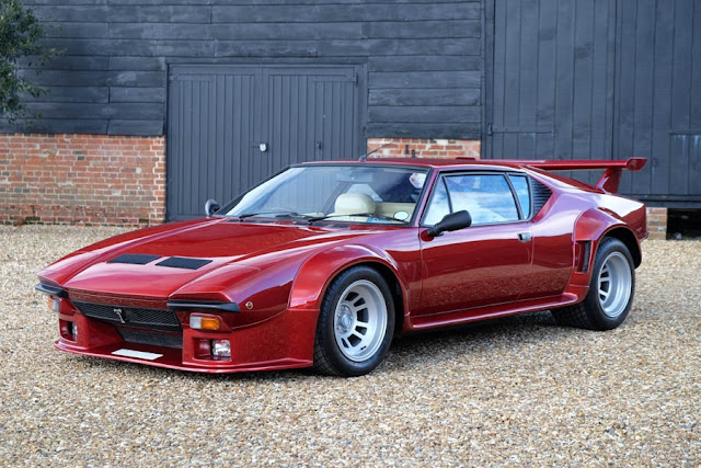 1984 De Tomaso Pantera Gt5 For Sale At The Hairpin Company