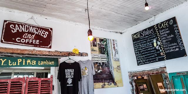 Café Y Tu Piña También, Antigua, Guatemala