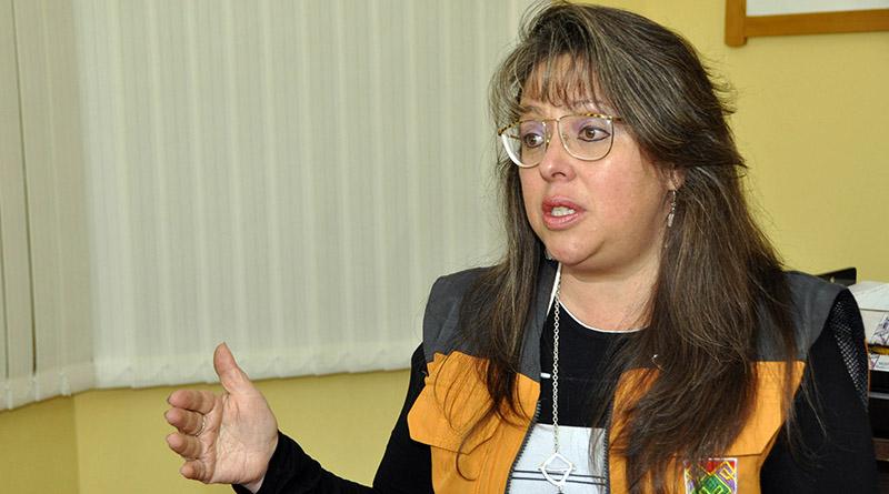 La secretaria Municipal de Desarrollo Social, Blanca Mendoza