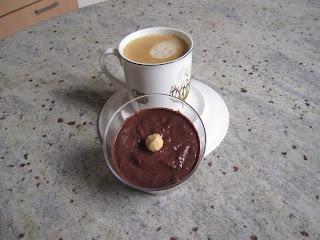 Crème vegan au chocolat