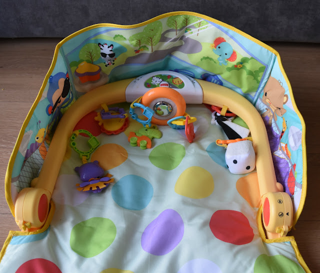 Fisher Price 3-in-1 Car Gym Tummy Time