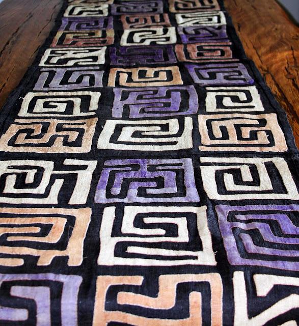 Finest African Textiles│Kuba Cloth 120