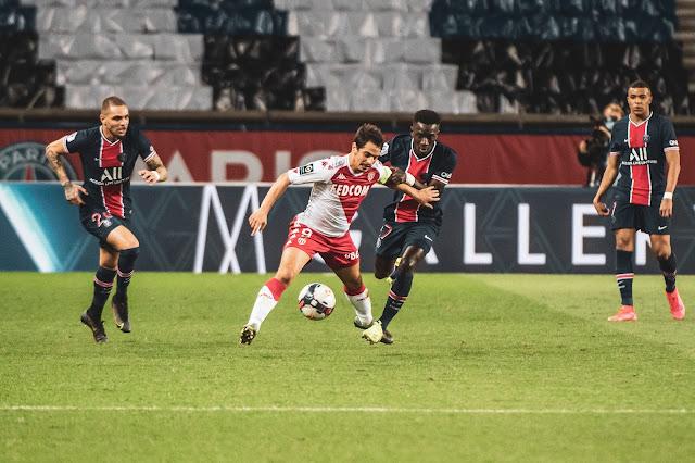 ملخص واهداف مباراة باريس سان جيرمان وموناكو (0-2) الدوري الفرنسي