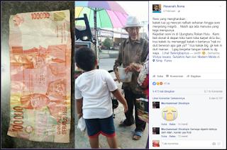 Kasihan, Kakek Penjual Donat Ini Tertipu Uang Mainan