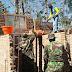 Siapkan Fasilitas Untuk Satgas TMMD,  Pembuatan MCK di Kebut