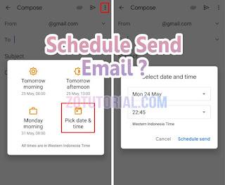 Cara Mengirim Email Terjadwal (Schedule) di Waktu Tertentu by zotutorial