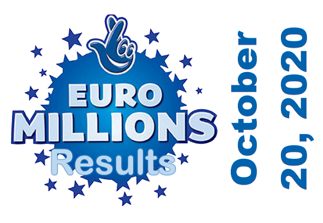 EuroMillions Results for Tuesday, October 20, 2020