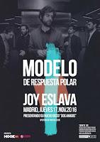 Concierto de Modelo de Respuesta Polar en Joy Eslava