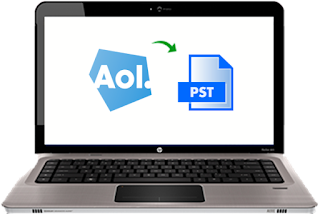 covert aol mail to pst file