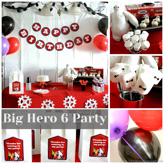 Big Hero 6 Baymax party