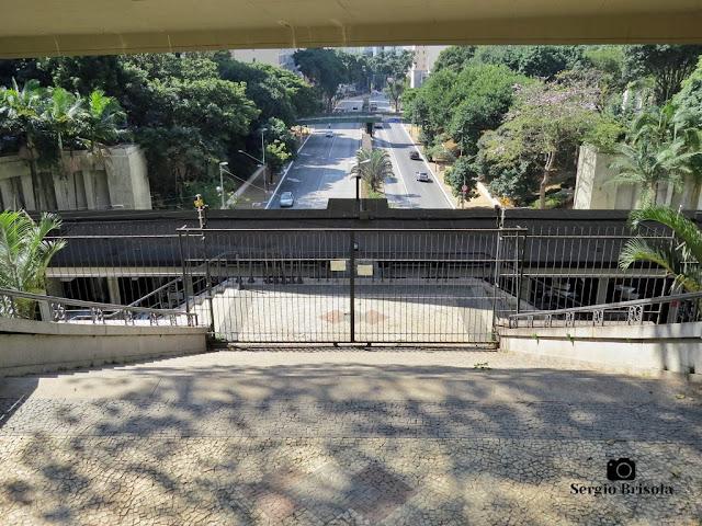 Vista ampla desde o Mirante 9 de Julho - Bela Vista - São Paulo