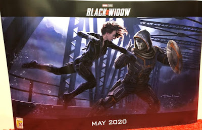 San Diego Comic-Con 2019 Exclusive Marvel's Black Widow Concept Art Movie Poster by Andy Park