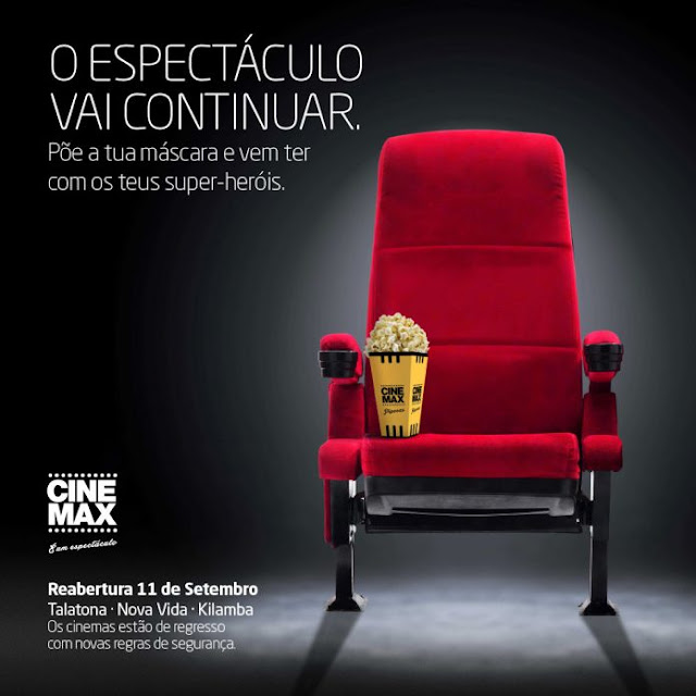 Reabertura do Cinemax em luanda