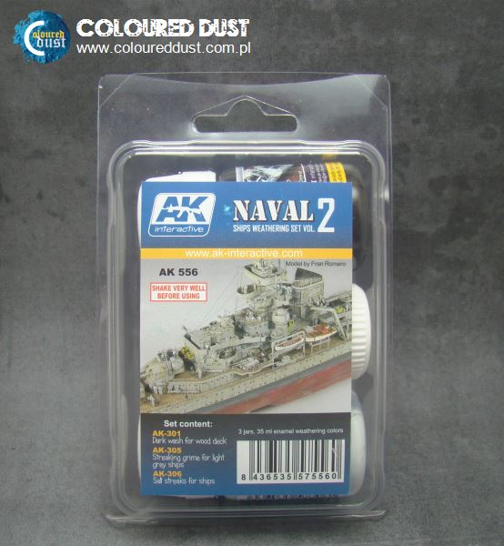 AK 556 SHIPS WEATHERING SET Vol.2
