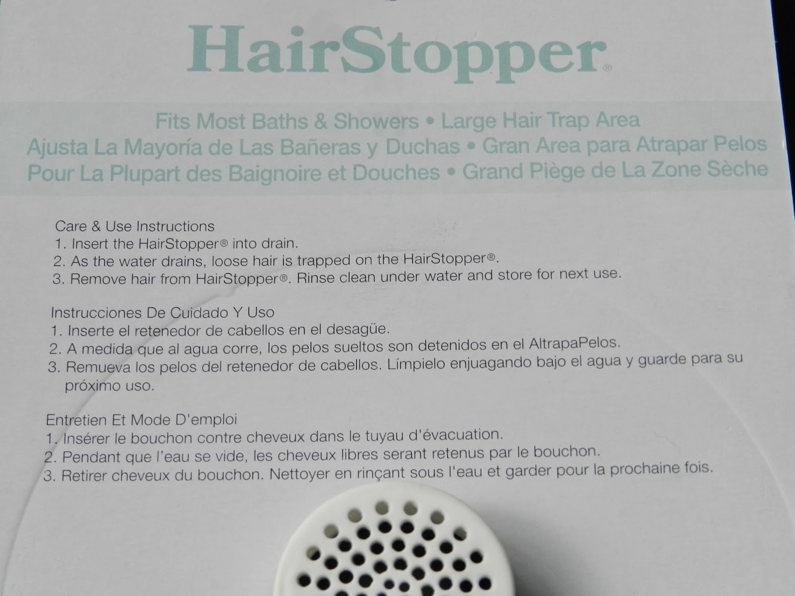 HairStopper: Lost in translation.