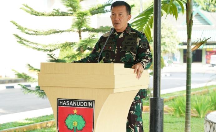 Pendam, HUT ke-64 Kodam Hasanuddin, Gelar Donor Darah