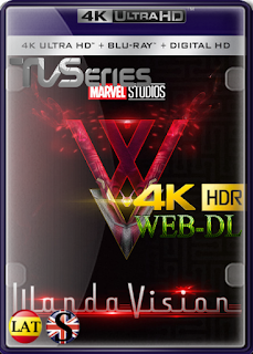 WandaVision (Temporada 1) WEB-DL 4K UHD HDR LATINO/ESPAÑOL/INGLES