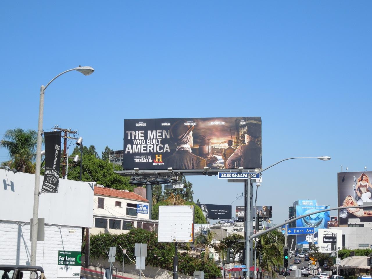 Daily Billboard The Men Who Built America Tv Billboard